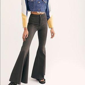 Free people flare jeans size w26